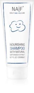 Naif Baby & Kids Närande schampo För barnens hårbotten