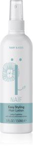 Naif Baby & Kids Spülungsfreier nährender Conditioner für die leichte Kämmbarkeit des Haares