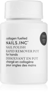 Nails Inc. Powered by Collagen odlakovač na nehty bez acetonu