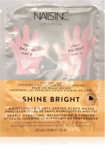 Nails Inc. Shine Bright masque rajeunissant mains