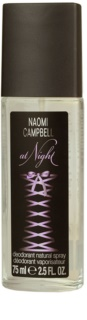 Naomi Campbell At Night deodorante con diffusore per donna 75 ml