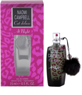 Naomi Campbell Cat deluxe At Night eau de toilette pentru femei 15 ml
