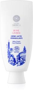 Natura Siberica Mon Amour leite de limpeza cremoso