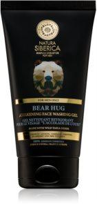 Natura Siberica For Men Only osvježavajući gel za čišćenje lica