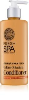Natura Siberica Fresh Spa Golden Oblepikha condicionador para cabelos secos e danificados