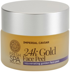 Natura Siberica Fresh Spa Imperial Caviar Rejuvenating Facial Exfoliator With 24 Carat Gold