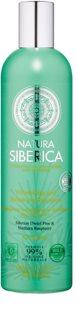 Natura Siberica Natural & Organic champô para dar volume para cabelo oleoso