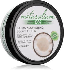 Naturalium Fruit Pleasure Coconut manteca corporal nutritiva