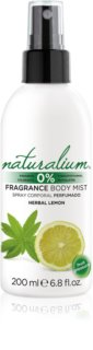 Naturalium Fruit Pleasure Herbal Lemon spray rafraîchissant corps