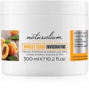 Naturalium Fresh Skin Apricot peeling orzeżwiający do ciała