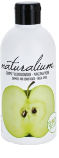 Naturalium Fruit Pleasure Green Apple shampoo e balsamo