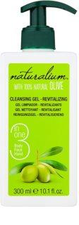 Naturalium Olive gel de limpeza revitalizante para rosto e corpo