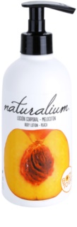 Naturalium Fruit Pleasure Peach leite corporal nutritivo