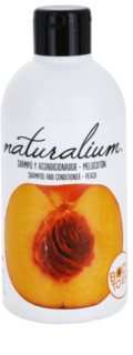 Naturalium Fruit Pleasure Peach champô e condicionador