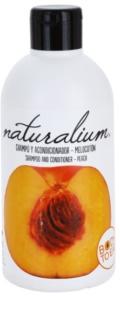 Naturalium Fruit Pleasure Peach šampón a kondicionér