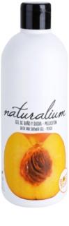 Naturalium Fruit Pleasure Peach tápláló tusoló gél
