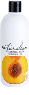 Naturalium Fruit Pleasure Peach vyživujúci sprchový gél
