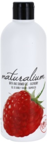 Naturalium Fruit Pleasure Raspberry hranilni gel za prhanje