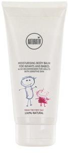 Naturativ Baby зволожуючий бальзам для тіла для чутливої шкіри