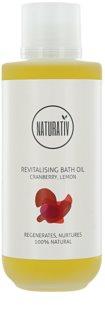 Naturativ Body Care Revitalising Badeöl mit feuchtigkeitsspendender Wirkung