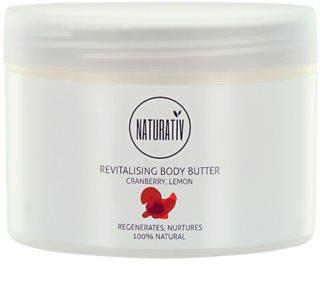 Naturativ Body Care Revitalising tělové máslo s hydratačním účinkem