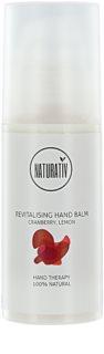 Naturativ Body Care Revitalising feuchtigkeitsspendendes Balsam für die Hände für trockene und gereitzte Haut