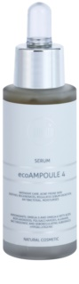 Naturativ Face Care ecoAmpoule 4 інтенсивна антибактеріальна сироватка для шкіри зі схильністю до акне