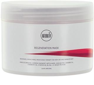 Naturativ Hair Care Regeneration Mask For Hair Strengthening And Shine