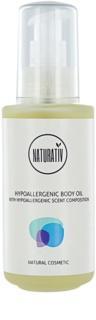 Naturativ Body Care Hypoallergenic масажно олио за тяло с хидратиращ ефект