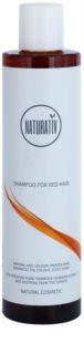 Naturativ Hair Care Red jemný šampon pro zvýraznění barvy vlasů