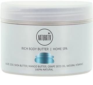 Naturativ Body Care Home Spa výživné tělové máslo