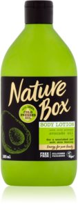 Nature Box Avocado nährende Body lotion