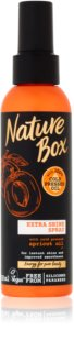 Nature Box Apricot spray lisciante per capelli brillanti e morbidi