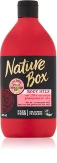 Nature Box Pomegranate latte corpo energizzante effetto idratante