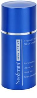 NeoStrata Skin Active nyugtató, feszesítő és pigmentegyesítő krém nyakra és dekoltázsra