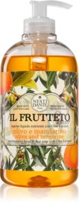 Nesti Dante Il Frutteto Olive and Tangerine flüssige Seife für die Hände