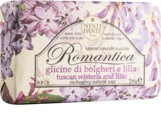 Nesti Dante Romantica Tuscan Wisteria & Lilac jabón natural
