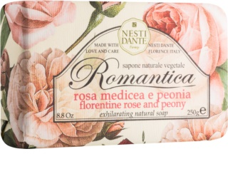 Nesti Dante Romantica Florentine Rose and Peony jabón natural