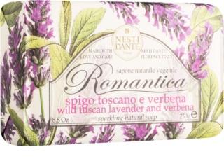 Nesti Dante Romantica Wild Tuscan Lavender and Verbena jabón natural