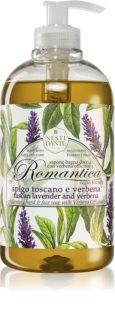 Nesti Dante Romantica Wild Tuscan Lavender and Verbena jemné tekuté mýdlo na ruce