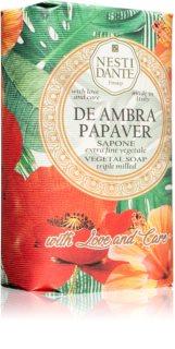 Nesti Dante De Ambra Papaver niezwykle delikatne, naturalne mydło