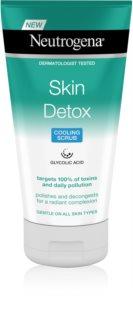 Neutrogena Skin Detox demachiant cu efect de peenling
