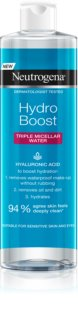 Neutrogena Hydro Boost® Face agua micelar 3 en 1 con efecto humectante