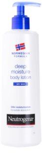 Neutrogena Norwegian Formula® Deep Moisture leite corporal hidratação profunda para pele seca