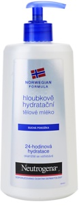 Neutrogena Body Care hĺbkovo hydratačné telové mlieko pre suchú pokožku