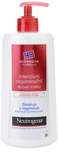 Neutrogena Body Care intenzívne regeneračné telové mlieko pre suchú pokožku