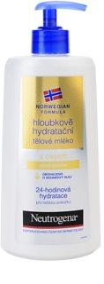 Neutrogena Norwegian Formula® Deep Moisture Feuchtigkeitsspendende Bodymilk mit Tiefenwirkung mit Öl