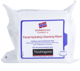 Neutrogena Face Care Cleansing Wipes for Dry and Sensitive Skin