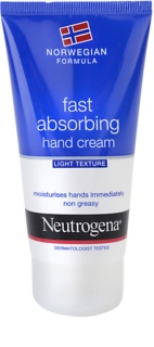 Neutrogena Hand Care Fast Absorbing Hand Cream - Light Texture