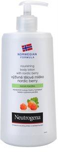 Neutrogena NordicBerry výživné telové mlieko  pre suchú pokožku